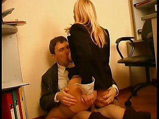 Boss and secretary