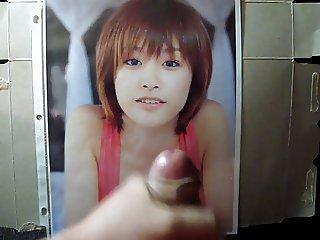 Ai Takahashi Cum Tribute Morning Musume Bukkake 3