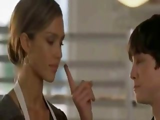 Jerk off in Jessica Alba 039 s face