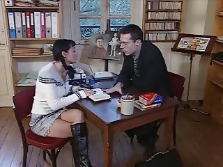 German teacher fucking Romanian schoolgirl