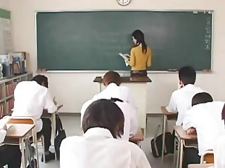 Maria Ozawa sexy teacher having sex in school