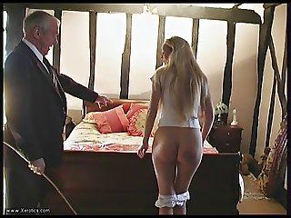 Bedroom spank