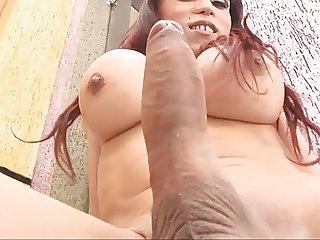 Big cock shemale Erica Schnaider