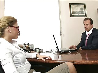 Sexy Secretary Brooklyn Lee