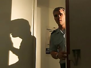 French police officer fucking in locker room