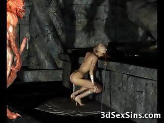 Evil Creatures Fuck 3D Elf Girls