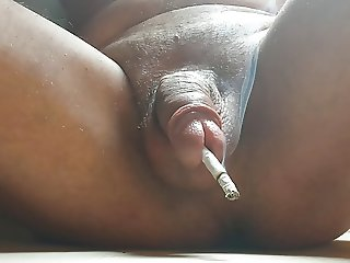 penis insertion cigarette