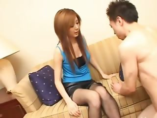 Beautiful asian girl from Tokyo banged