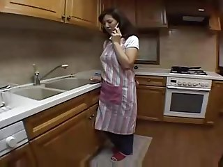 Japanese Mother Kitchen Play