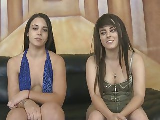 two girls humiliated and face fucked