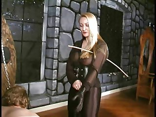 Crysta A Slow Hard Caning by brutal Mistress
