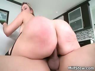 Horny big tits blonde milf fucking hard part3
