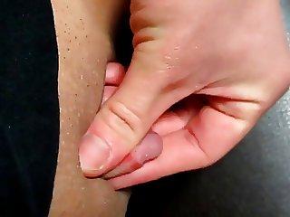 Close Up Mega Clit Stroke 3