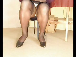 TGirl Watching TV Upskirt 341