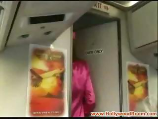 Stewardess Suck And Fuck A Passenger