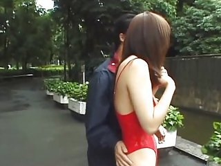 avmost Boob flashing Japanese giving head the