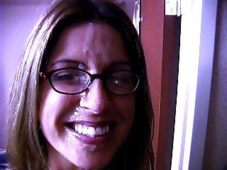 Dagny glasses facial