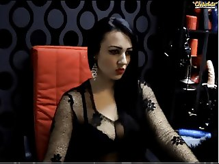 Romanian SHEMALE on cam