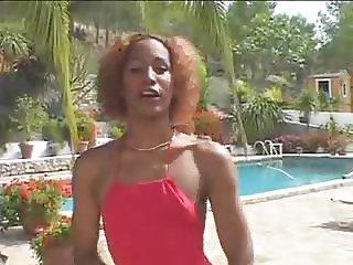 Ebony melissa bareback