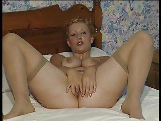 British slut Wendyl plays with herself in various scenes