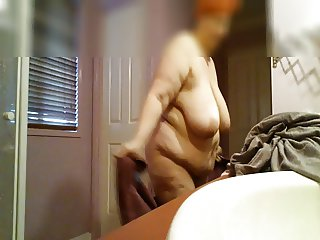 My BBW out of the shower