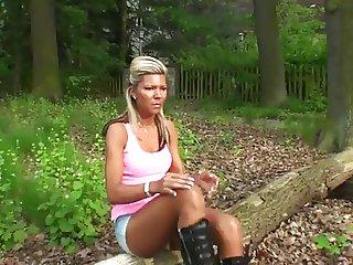LGH German Tamia Outdoor Boots und Glanz Strumpfhose