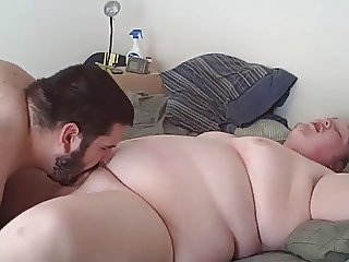 Chubby bear fucks his smooth chub boyfriend