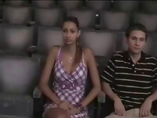 Cinema Grope.... Nice Tits