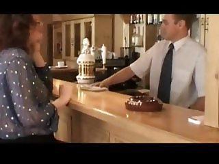 Bartender fucks a Sweet Pregnant