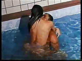 Patricia Khan Diamonds poolside penetration