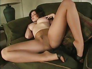 Erica Campbell Pantyhose Tease