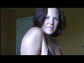 Hot Tanlined Mom Annabel Sucks His Cock POV