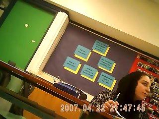voyeur teacher arabic class
