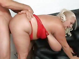 Blonde Sugar Mama And Boy