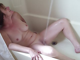 Dick and Jane Shower masturbation