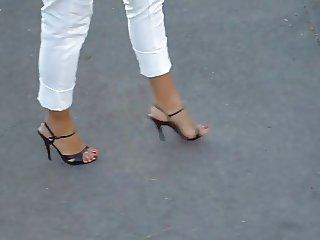 5inch heels on a walk