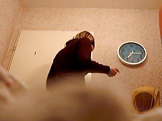 premiere hidden in bathroom