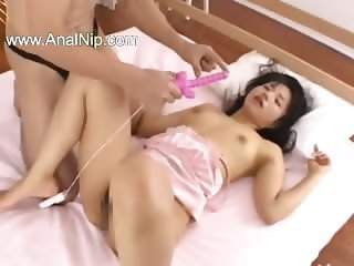 Censored unique gangbang from mongolian
