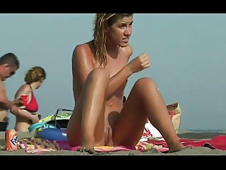 Hot girl at the Nude Beach