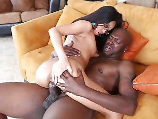 Cindy Starfall VS Big Black Cock