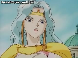 Five anime schoolgirls have fun sucking part4