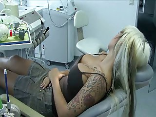 hot blonde fucked dentist