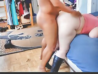 BBCmaster78 Tappin some White BBW Ass Doggystyle