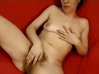 hairy lonely woman