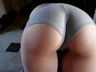 Grey Booty Shorts