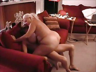 Big Titty BBW getting a good workout