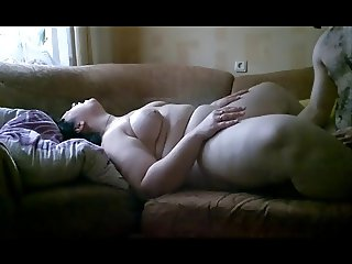 julia bbw plumper pussy licked cum inside