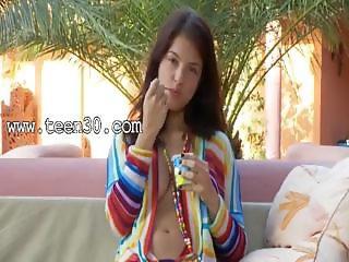 Overblown brunette busty pornstar in HD