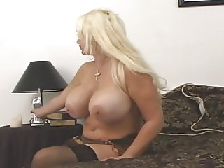 sex with a busty blonde