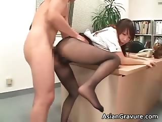 Horny asian slut sucking dudes weiner part6